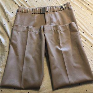 Tessori size 12 tan trousers.  Excellent condition